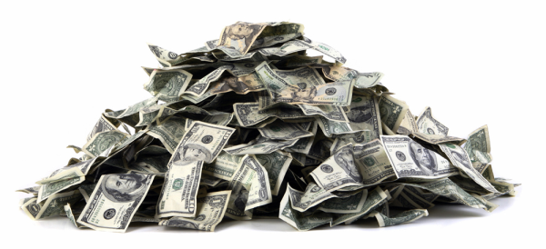 Recruiter Network Pile of Money