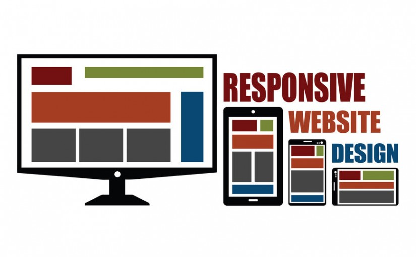 graphic of responsive website design