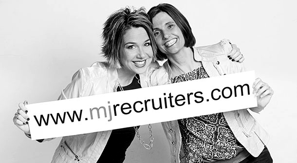 Maria Hemminger and Joanna Spaun of MJ Recruiters, LLC