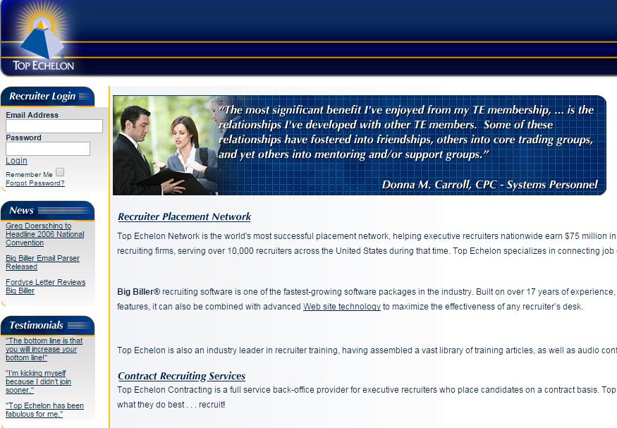 firm's website