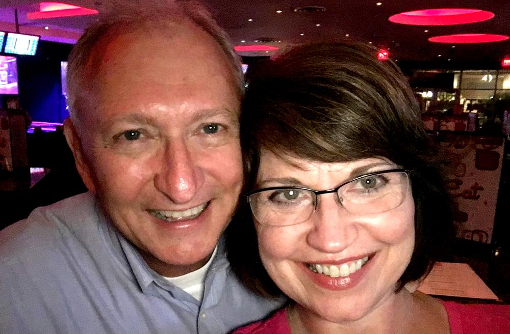 Pam Copeland and Steve Copeland at a Top Echelon event