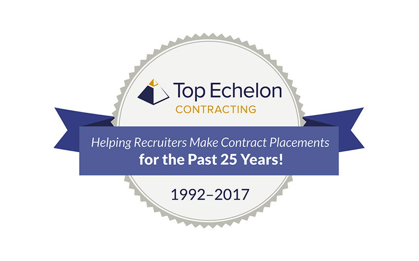 Top Echelon Contracting: 25th anniversary!