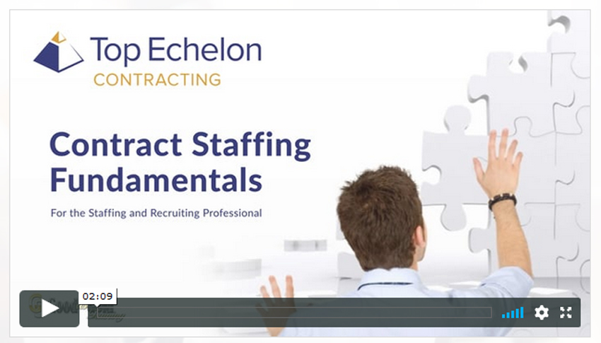 Free video series about contract staffing