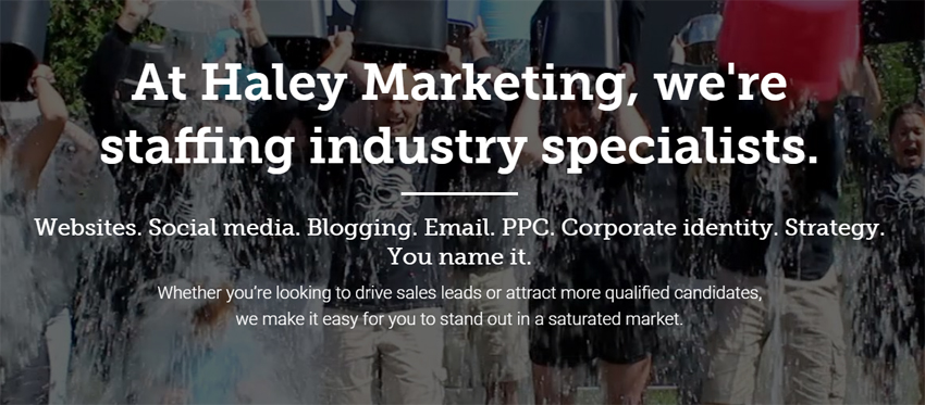 Haley Marketing: Top Echelon's web development partner