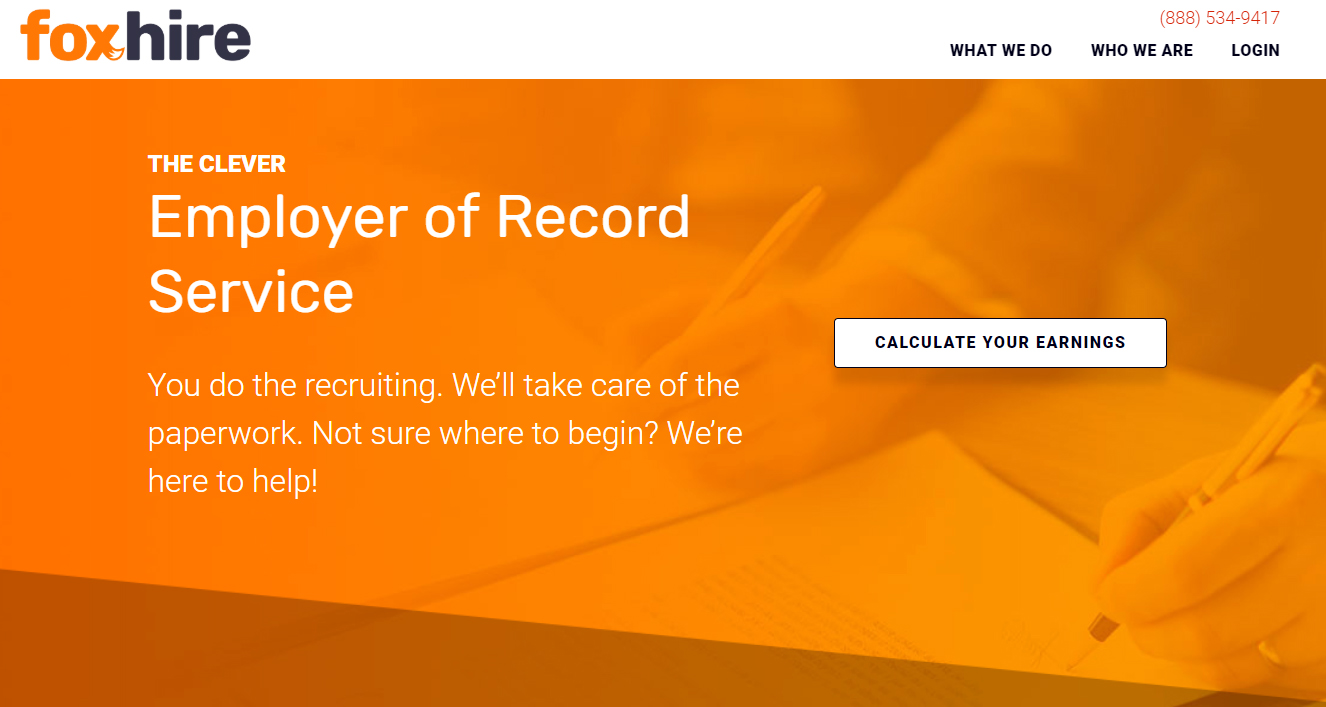 FoxHire Employer of Record Service